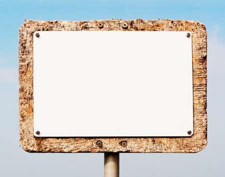 blank sign Stock Photo - 17365261