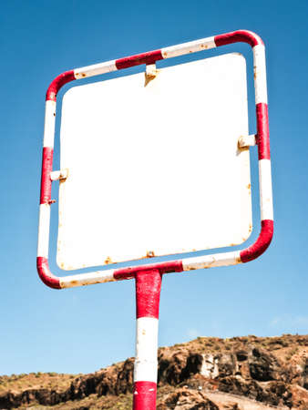 old blank sign Stock Photo - 17463528