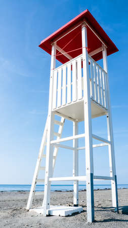 lookout tower at a beach Stock Photo - 17464133