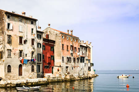 old town of rovinj - croatia photo