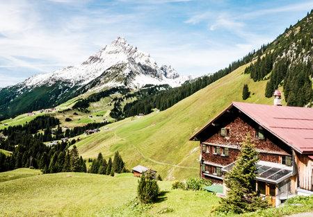 biberkopf in austria - european alps Stock Photo - 17465409