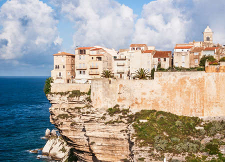 old town of bonifacio - sicily Stock Photo - 17596728
