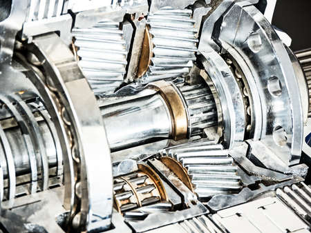 cross section of a car gear Stock Photo - 17596585
