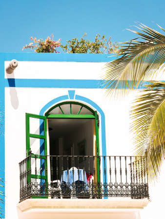 balcony at a tourist resort Stock Photo - 17678764