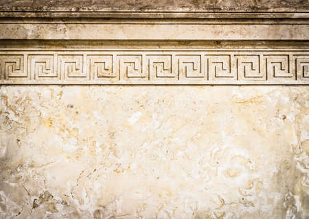 fluting: beautiful old wall with ornament - nice background with space for text
