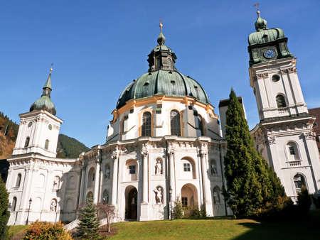 ettal: famous monastery ettal - bavaria - germany Stock Photo