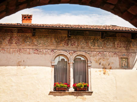 historic building at lazise-italy Stock Photo - 17743528