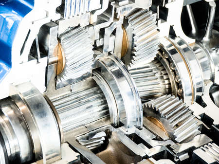 cross section of a car automatic gear Stock Photo - 17743487