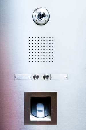 modern intercom photo
