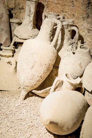 group of old  Amphoras photo