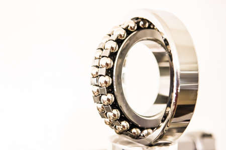 modern ball bearing - close-up photo