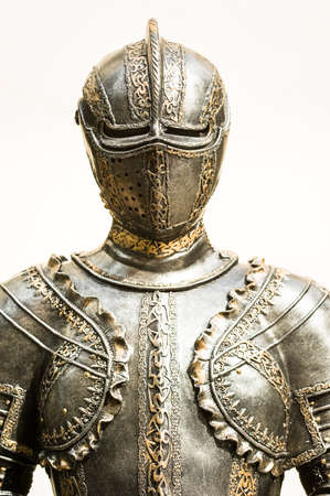 beautiful antique suit of armor photo