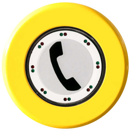 modern phone button at a phone cell Stock Photo - 17844765