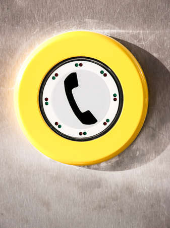 modern phone button at a phone cell Stock Photo - 17841904
