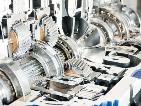 cross section of a car automatic gear Stock Photo - 17845636
