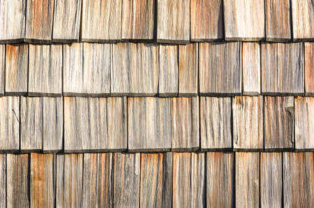 small wooden shingles at a facade - nice background photo