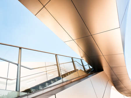 modern staircase - nice background Stock Photo - 18017494