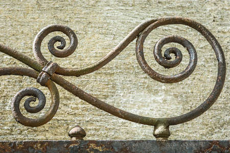 part of an old fence - close-up photo