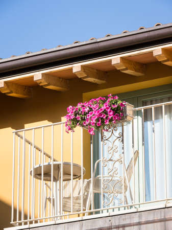 balcony at a tourist resort Stock Photo - 18735391