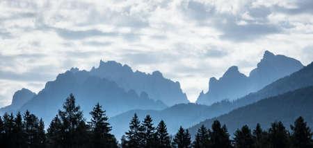 italien: mountain range at the italien dolomites