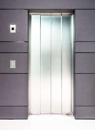 modern elevator door - nice background Stock Photo - 18935227