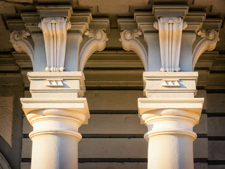 old columns Stock Photo - 20435799