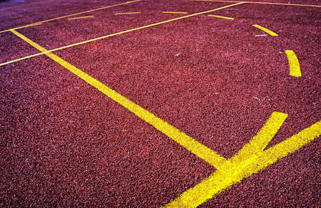 basketball field - close-up - nice background photo