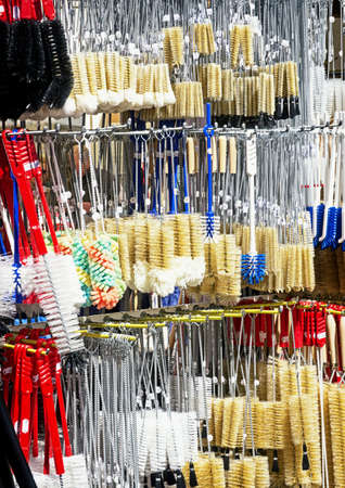 scrubbers: scrubbers at a street market