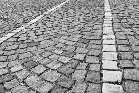 old cobblestone - nice background photo