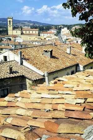beautiful old town near massa marittima (tuscany)
