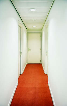 corridor at an office building