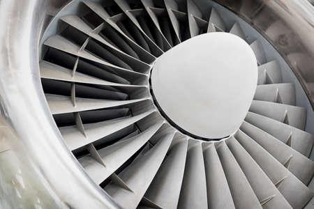 jet engine: modern turbine at a plane