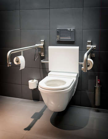 modern restroom for disabled people photo