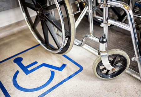 disabled sign: disabled sign and wheel chair - photo