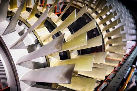 shovels of a turbine
