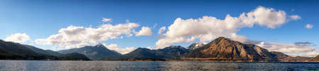 clear waters: walchensee in bavaria, germany Stock Photo