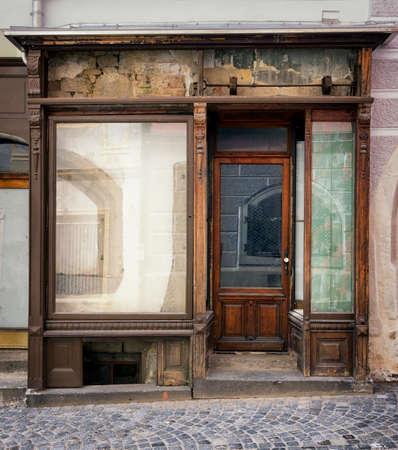 oude winkel front - ruimte voor tekst
