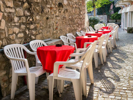 little restaurant at the tuscanyitaly photo