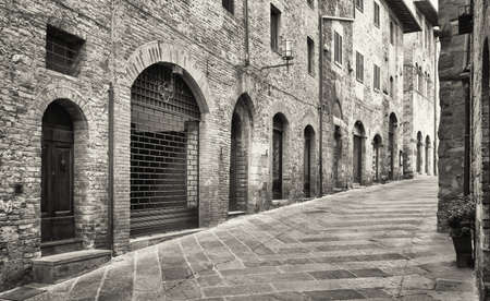 old town of san gimignano - tuscany - italy photo