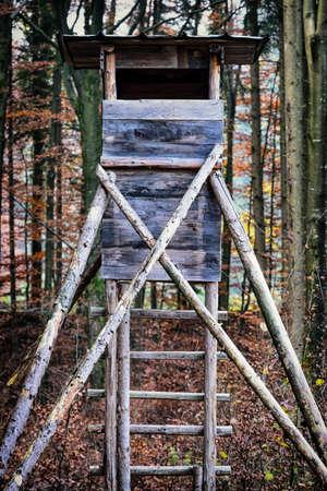 wildlife observation point - raised blind photo