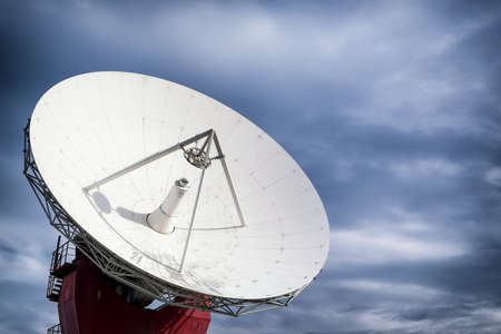 satellite dish: modern satellite dish - radio telescope