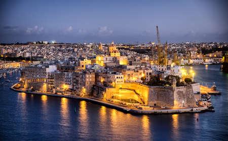 harbor of valletta - malta