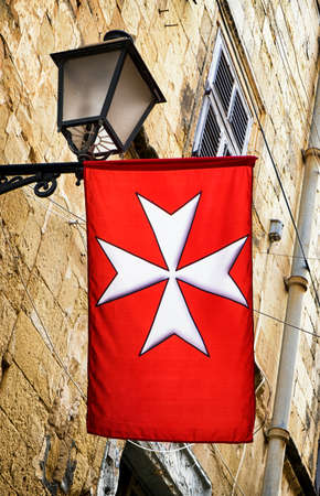 old coat of arms of malta Stock Photo