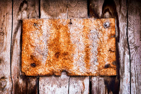 customisable: beautiful old wooden sign - nice background