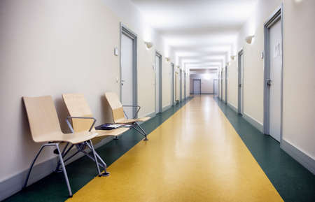 furniture part: corridor at an office building