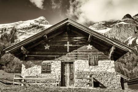 antico casale in alm ita in Austria - Karwendel