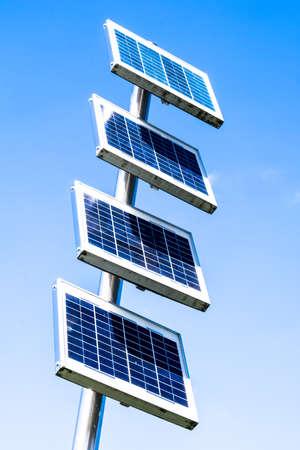 solarcell: modern solar panel - solar cell