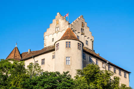 famous facade at meersburg  germany
