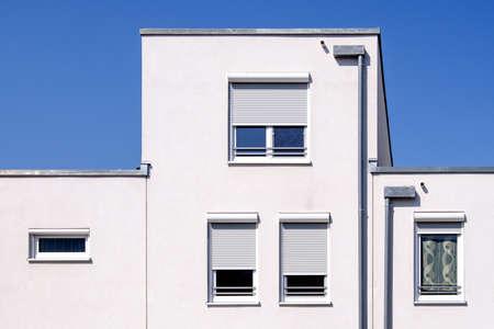 part of a modern plattenbau