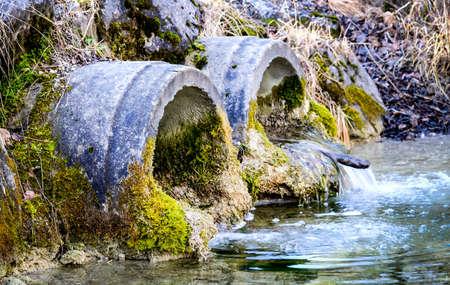 water tubes at a river